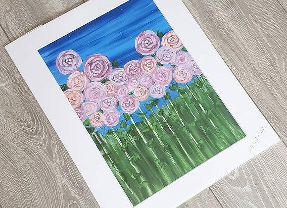 ROSE Acrylic Painting