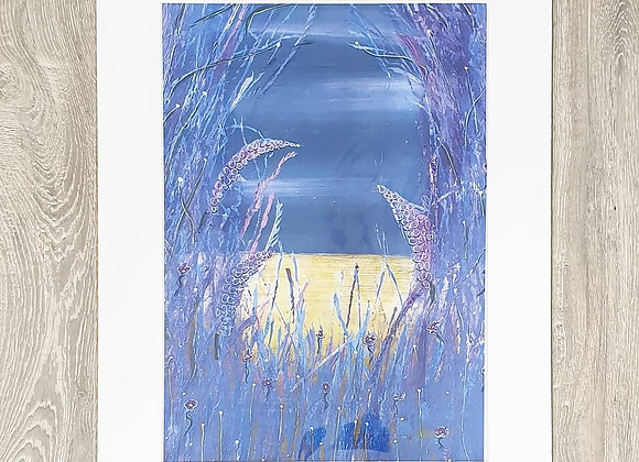 EERIE Acrylic Painting