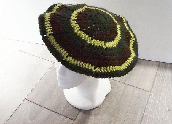 Crochet Hat Green