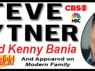 """Featuring w/ Steve Hytner from """"Seinfeld!"""""""