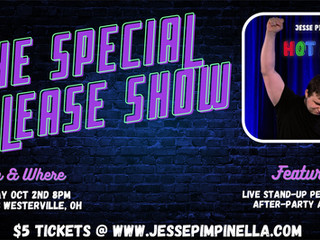 Comedy Special On The Way! Find Out More!