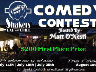 Shaker's Bar & Grill Comedy Contest