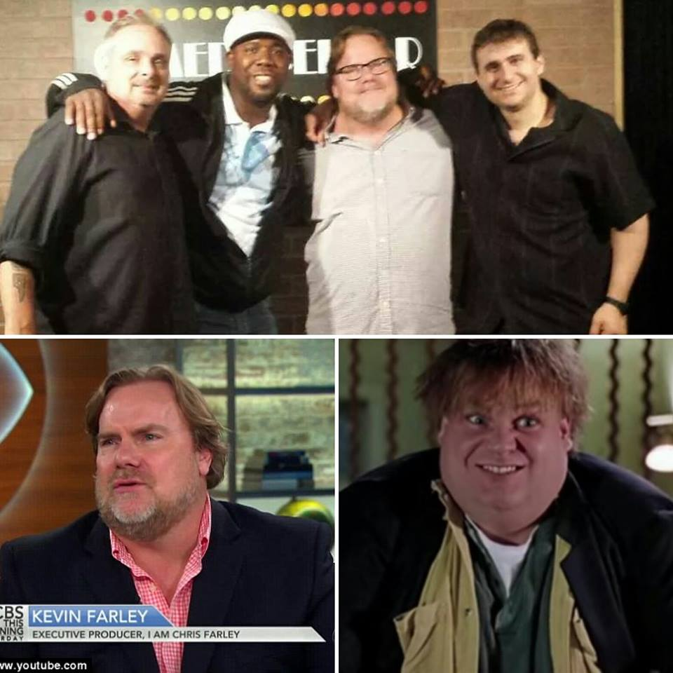 Kevin Farley and I