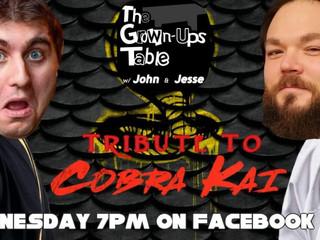 Tune in for some COBRA KAI TALK!