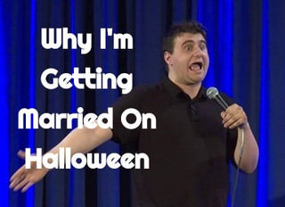 Why I Am I Getting Married on Halloween!