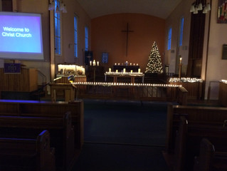 Carols by Candlelight 4pm Sunday 20th Dec