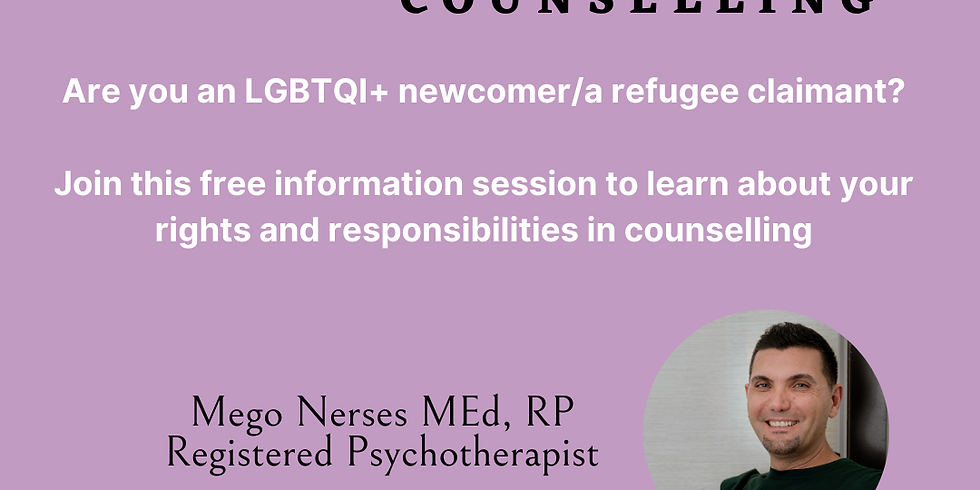 Your Rights & Responsibilities in Counselling