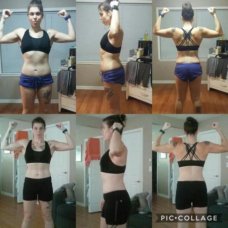 Amazing 6 Week Challenge Transformation: Monica Pagan!!