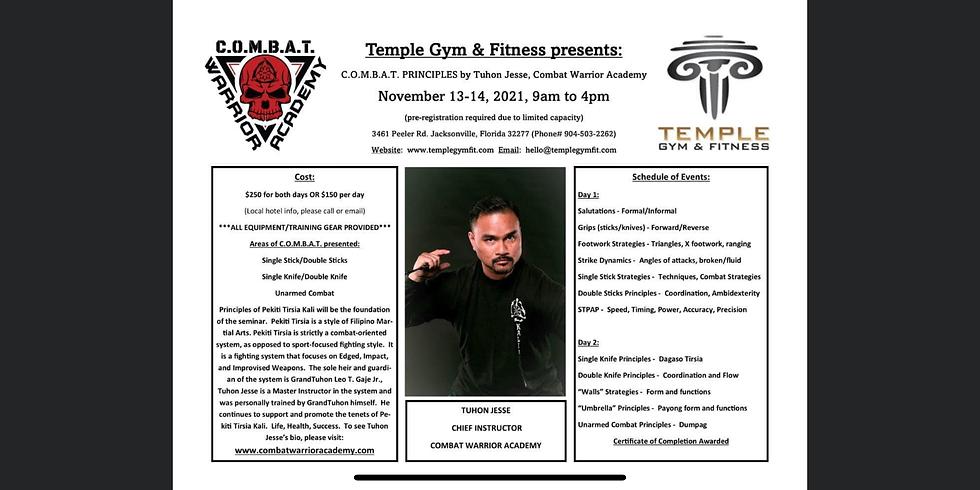 Temple Combat Warrior Academy