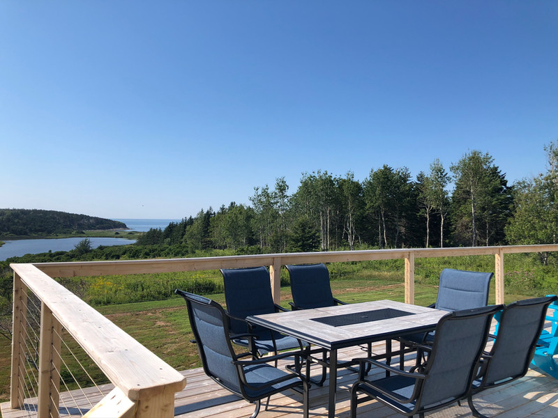 Ocean view from Private Deck