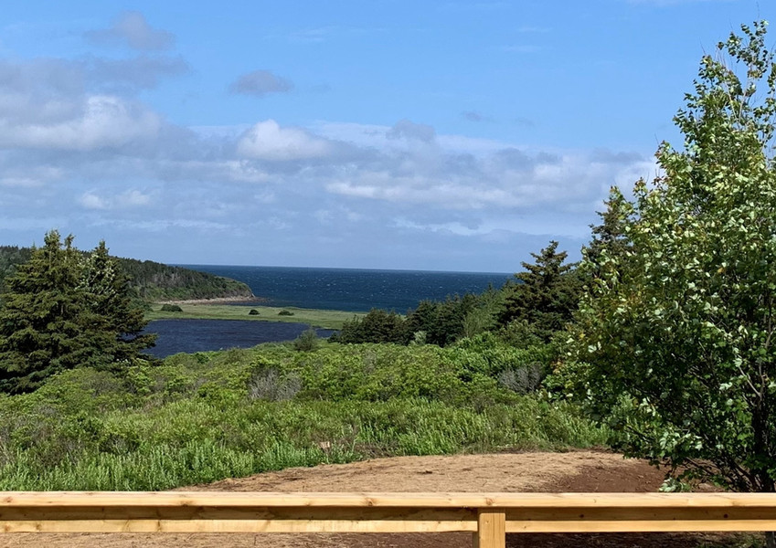 Daytime view from the sundeck