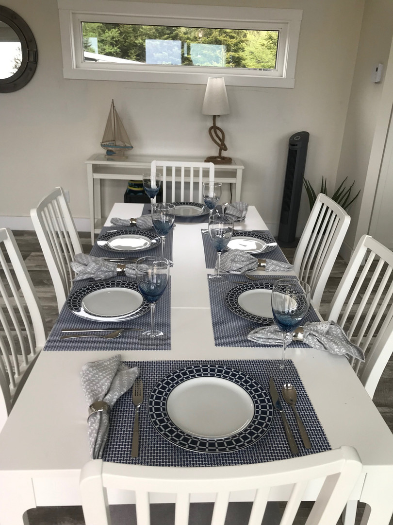 Dine and entertain in comfort and style