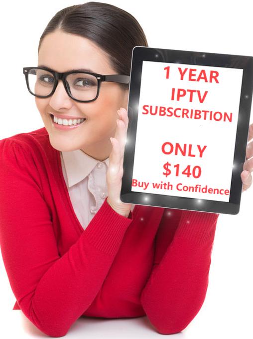 1 Year IPTV SUBSCRIPTION