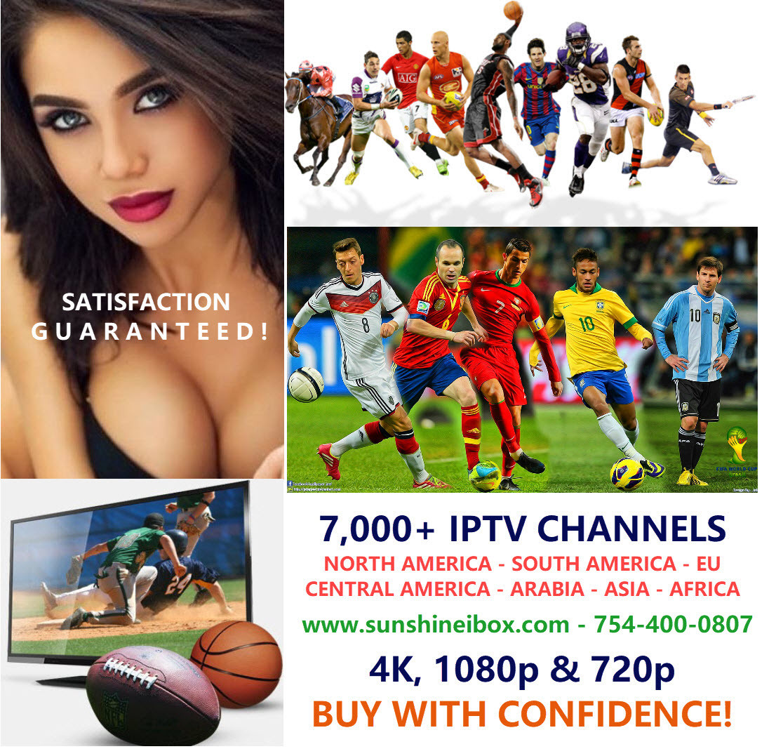 8,500 IPTV CHANNELS LIVE SPORTS TV SHOWS VOD MOVIES