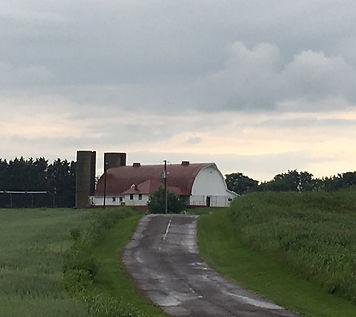 View of Culpeper Rec Club barn.