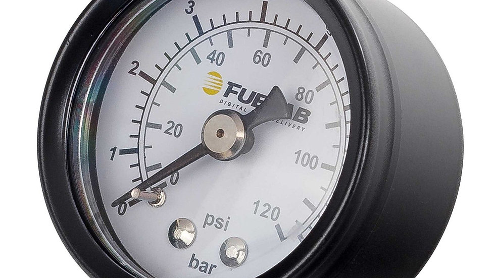 FUELAB Analog Fuel Pressure Gauges