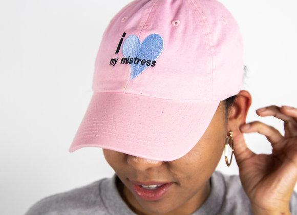 I Love My Mistress Dad Hat (Pink)