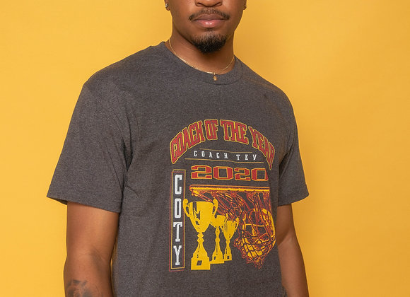 Grey COTY Tee | Basketball Design