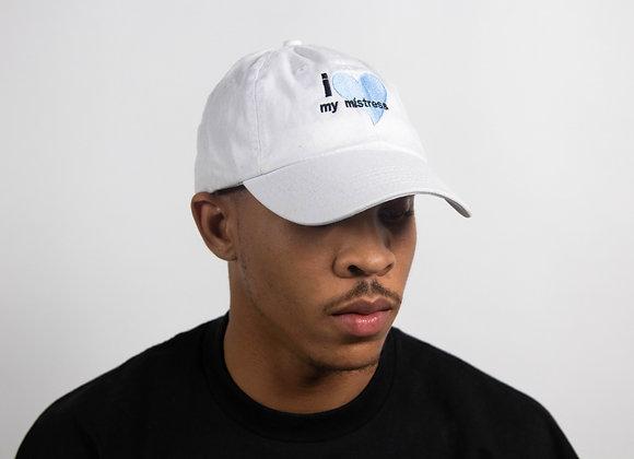 I Love My Mistress Dad Hat (White)
