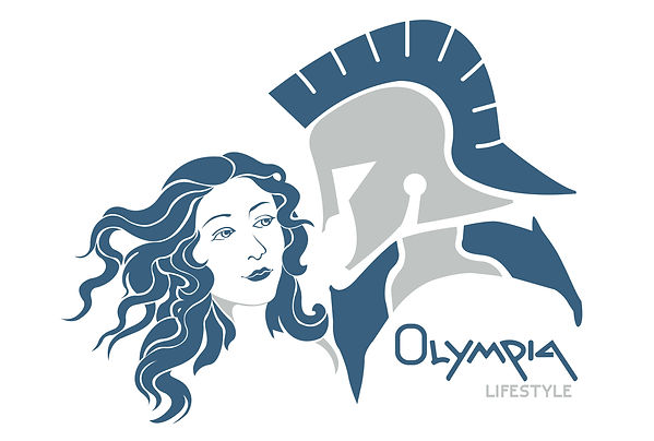 Olympia Lifestyle - blue- 24in x 36 in-0