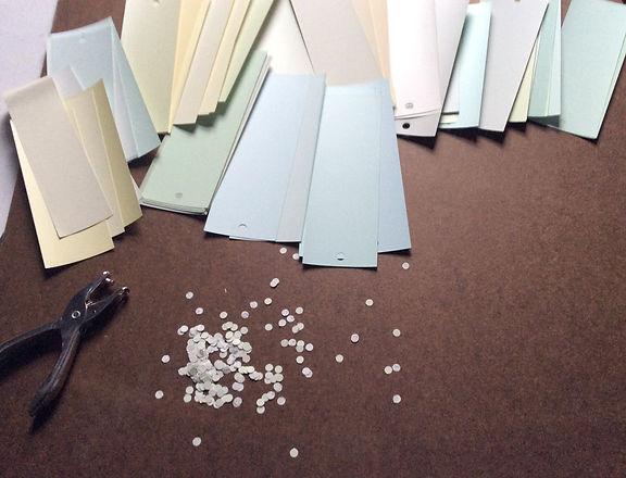 Perforation et choix de couleur