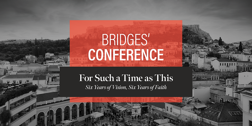"""Bridges' Conference 2019 """"For Such a Time as This"""""""