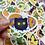 "Thumbnail: Egg Buddies Matte Vinyl Sticker (2"")"
