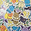 "Thumbnail: Eevee & Friends 2"" Vinyl Sticker"