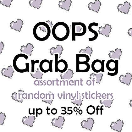 May OOPS Sticker Grab Bag - 20 items