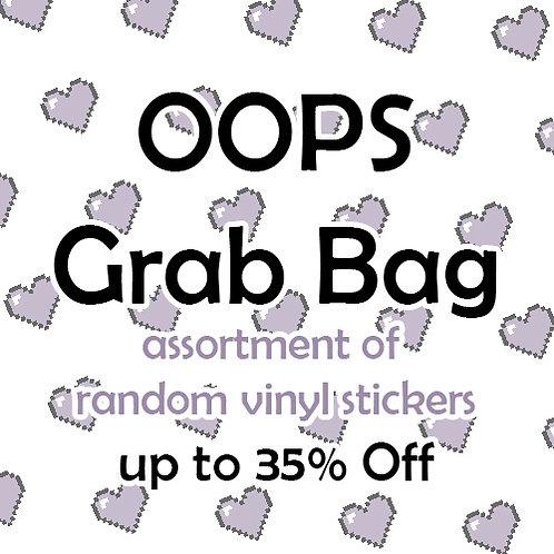 OOPS Sticker Grab Bag - 20 items