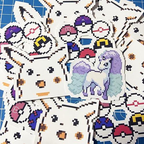 "Pokemon Matte Vinyl Sticker (2"")"