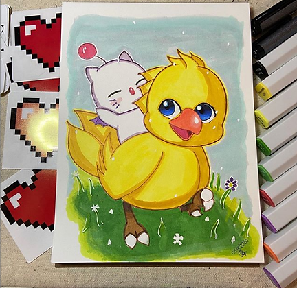 Moogle Chocobo Original