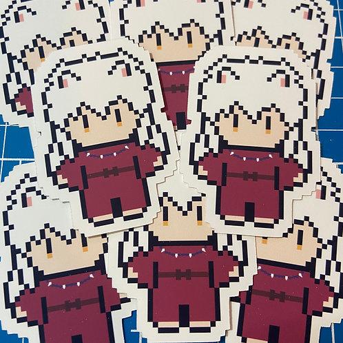 """Inuyasha Matte Vinyl Sticker (2"""")"""