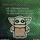 Thumbnail: Star Wars The Mandalorian The Child Pixel Art Acrylic Charm