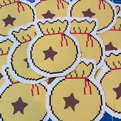 "Animal Crossing Matte Vinyl Sticker (2"")"