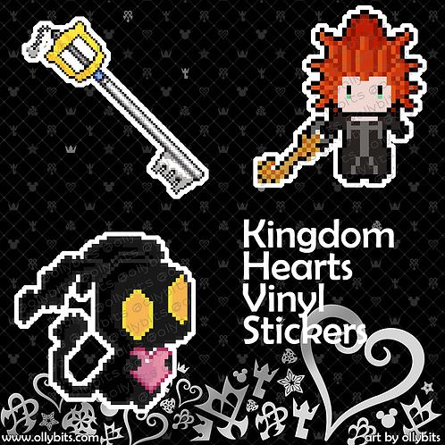 """Kingdom Hearts Matte Vinyl Sticker (2"""")"""