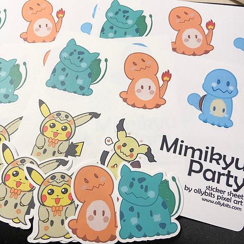 "Pokemon Mimikyu Theme Vinyl Sticker (2"")"