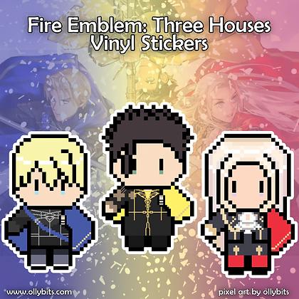 """Fire Emblem Three Houses Vinyl Sticker (2"""")"""