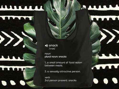Pre-Order Snacks 3pack Reusable Bags