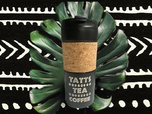 Tatts Tea Coffee French Press Tumbler