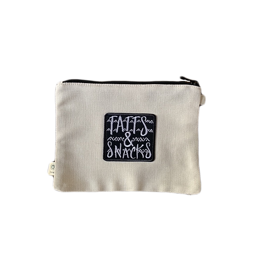 Tatts & Snacks Hemp Pouch