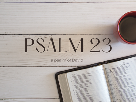 Psalm 23: WORD in ACTION