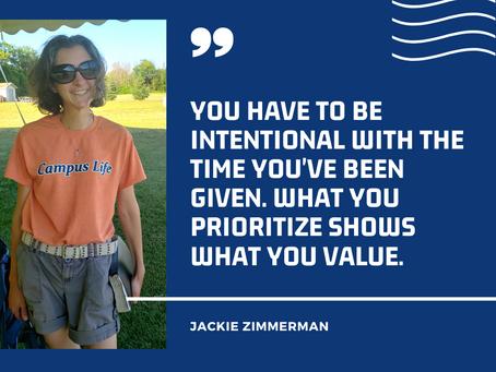 Meet our volunteer Jackie Zimmerman!