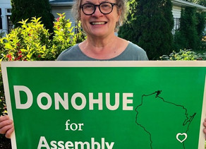 Good News for the Mary Lynne Donohue Campaign!