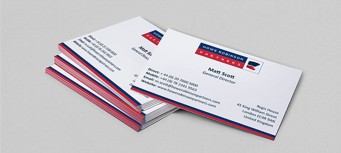 Howe Robinson businesscard