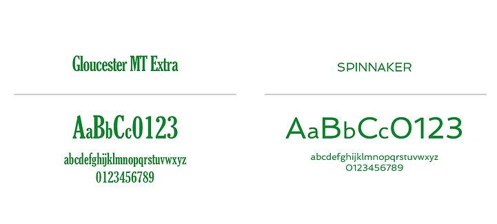 Coppa il Ragno tipography