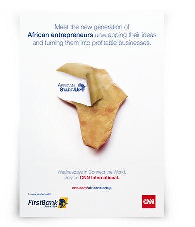 CNN Interantional and FirstBanck ad