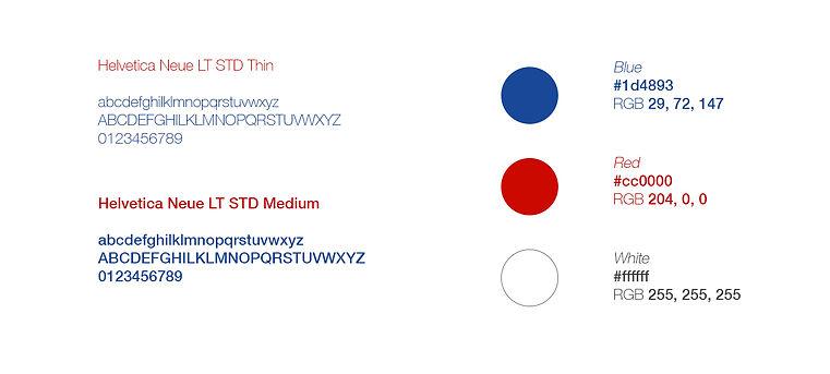 CNN Interantional and FirstBanck color palette