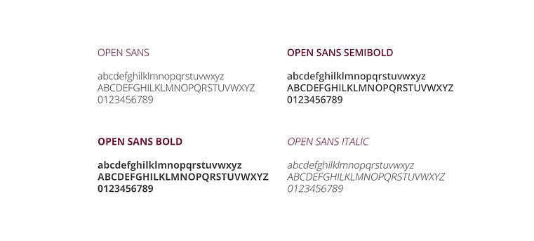 Banca Passadore tipography