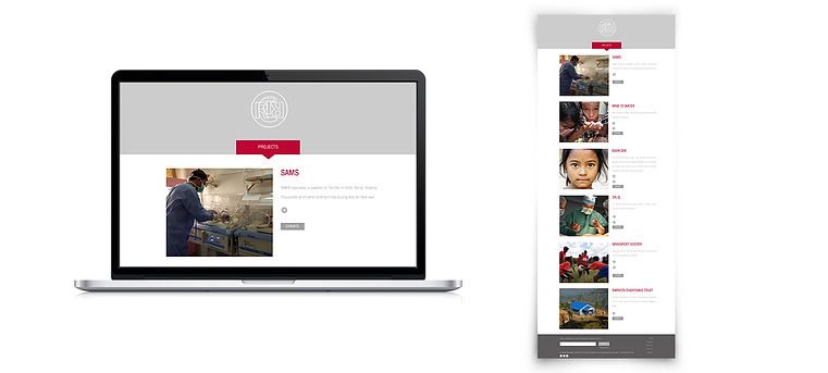 RCRT Foundation website